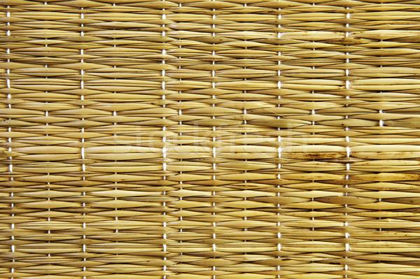Stock fotó: Szalmaszál · textúra · fű · háttér · padló · növény
