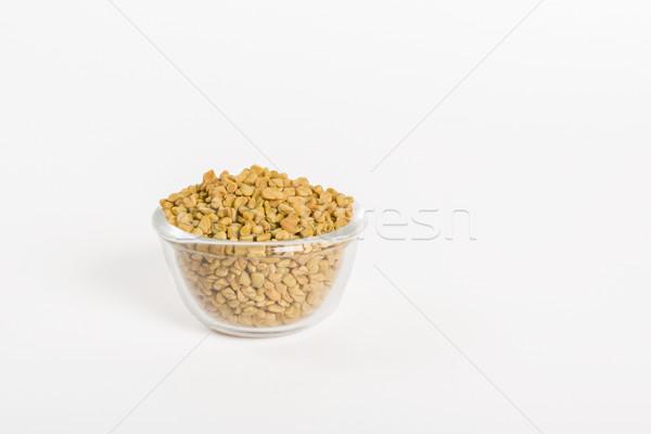 Fenugreek seeds Stock photo © vinodpillai