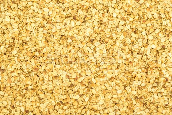 Coriandolo semi giallo Spice Foto d'archivio © vinodpillai
