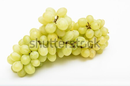 White grapes on white Stock photo © vinodpillai