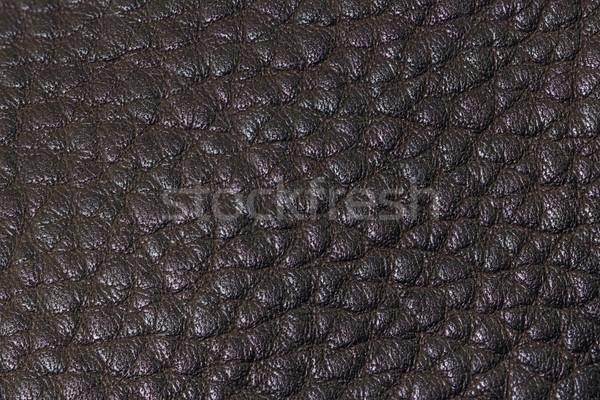 Sombre cuir texture extrême Photo stock © vinodpillai