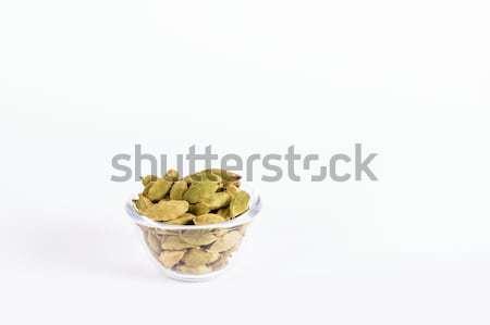 Glass Bowl with Cardamom Stock photo © vinodpillai