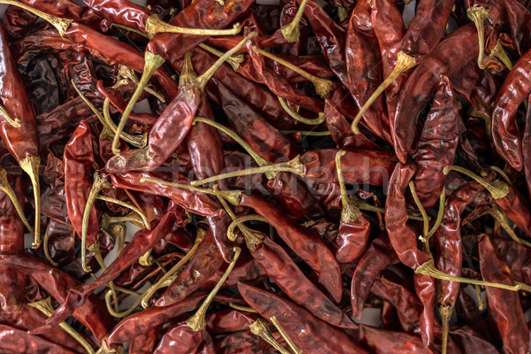 Dried Red Chillies Stock photo © vinodpillai