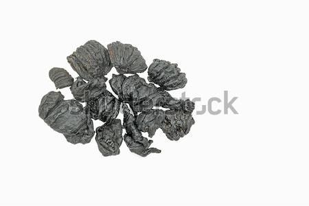 Blanche séché fruits médecine noir tropicales Photo stock © vinodpillai