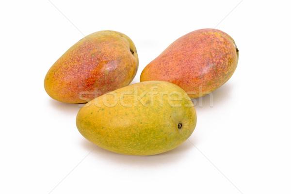 Indian Organic Mangoes Stock photo © vinodpillai