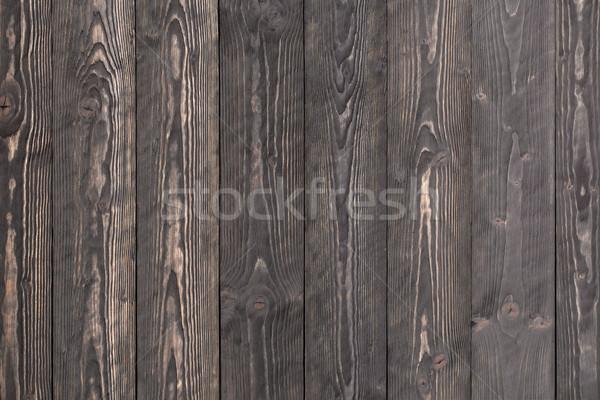 Rustic dark gray wooden background Stock photo © viperfzk