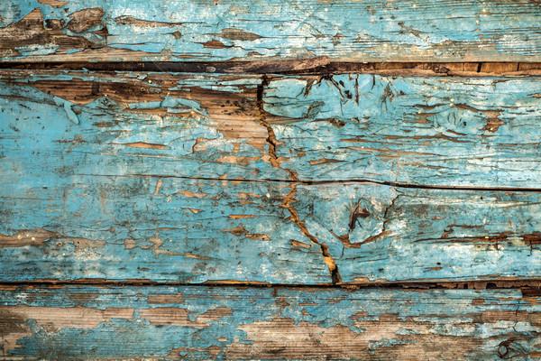 Vintage haveloos houten hek abstract ontwerp Stockfoto © viperfzk