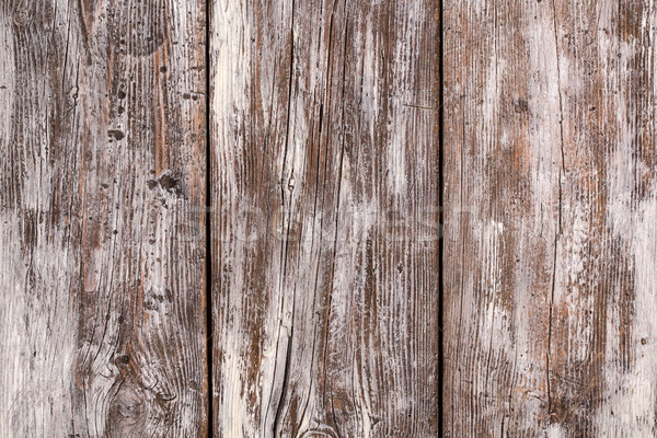 Rustic wood background with white stain and grunge elements Stock photo © viperfzk