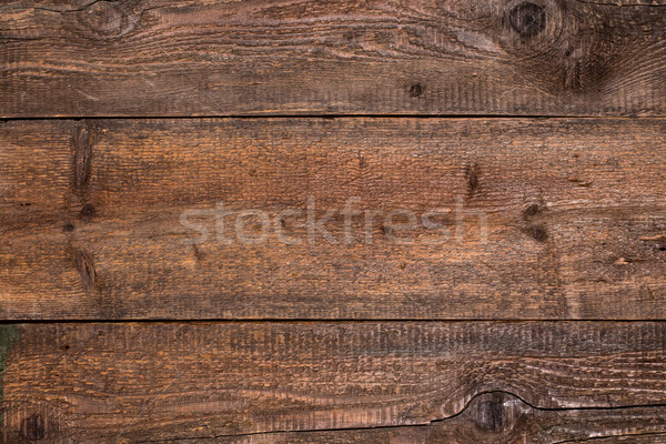Rustic brown wood background Stock photo © viperfzk