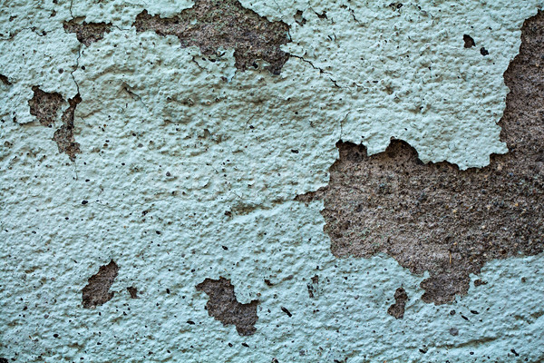 Repedt grunge zöld fal textúra tapéta Stock fotó © viperfzk