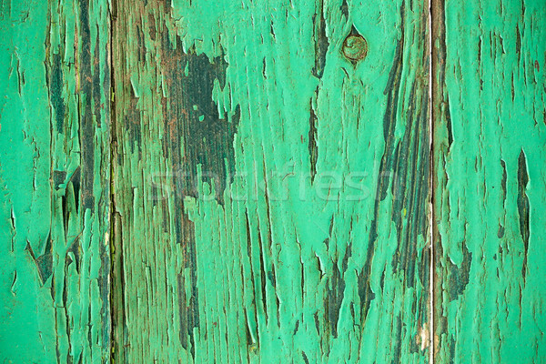 Vintage green weathered wooden background  Stock photo © viperfzk