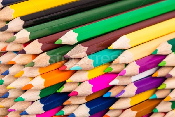 красочный карандашей мнение Сток-фото © viperfzk