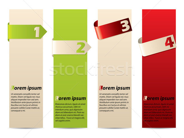 реклама Label набор текста лента фон Сток-фото © vipervxw