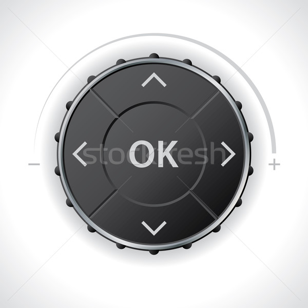 Universal menu or radio controller for dashboard Stock photo © vipervxw