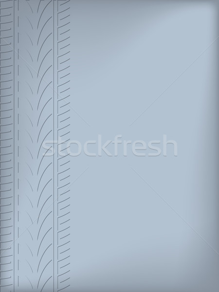 Abstract background design with tire tread Stock photo © vipervxw
