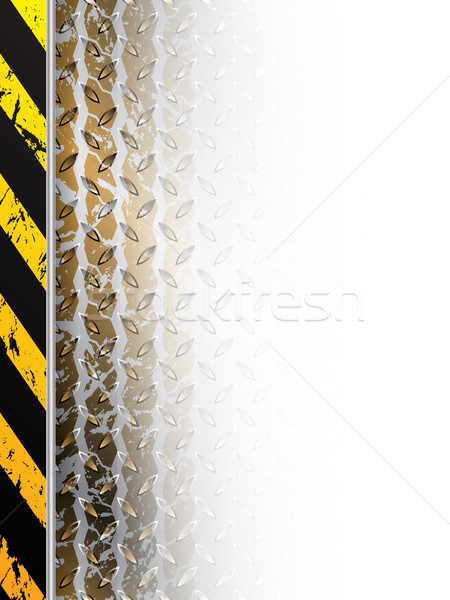 Industrial design with tire track fading in white space Stock photo © vipervxw