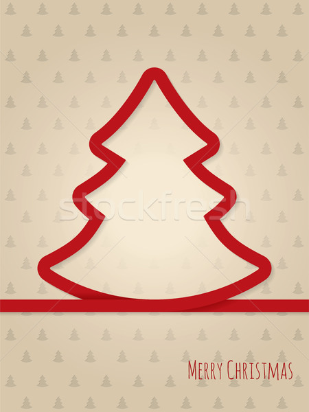 Рождества дерево дизайна вечеринка Сток-фото © vipervxw