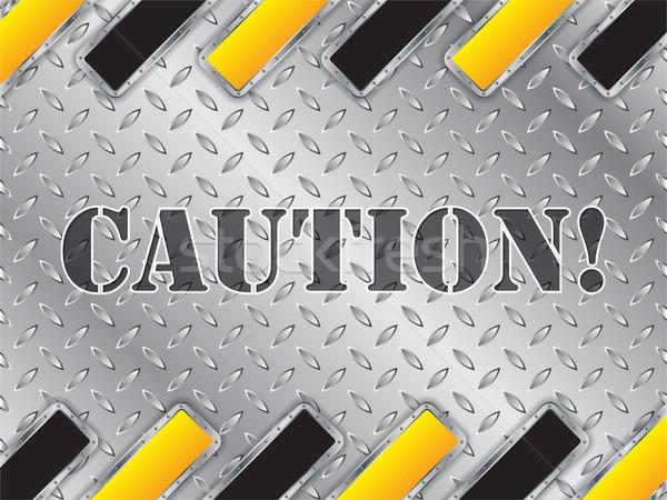 Streszczenie błyszczący metaliczny tablicy pasiasty elementy Zdjęcia stock © vipervxw