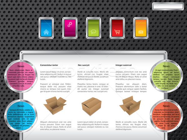 Foto stock: Tecnologia · web · design · cor · teia · modelo · projeto