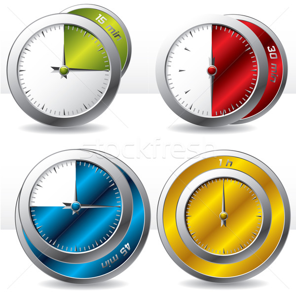 Various timers  Stock photo © vipervxw