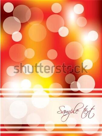 Dots & magma design brochure, background  Stock photo © vipervxw