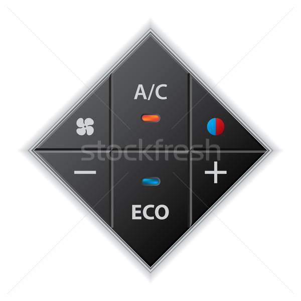 Autó autó kaliber fekete erő levegő Stock fotó © vipervxw