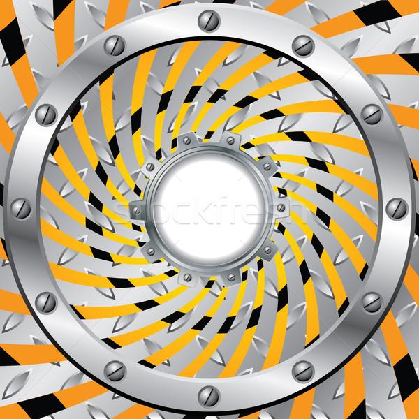 Twirling, swirling warning background design  Stock photo © vipervxw