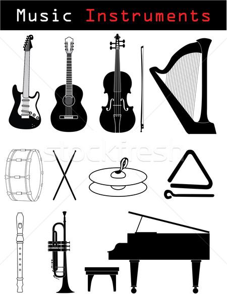 Music Instruments  Stock photo © vipervxw