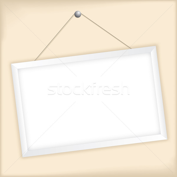 Customizable vector picture frame Stock photo © vipervxw
