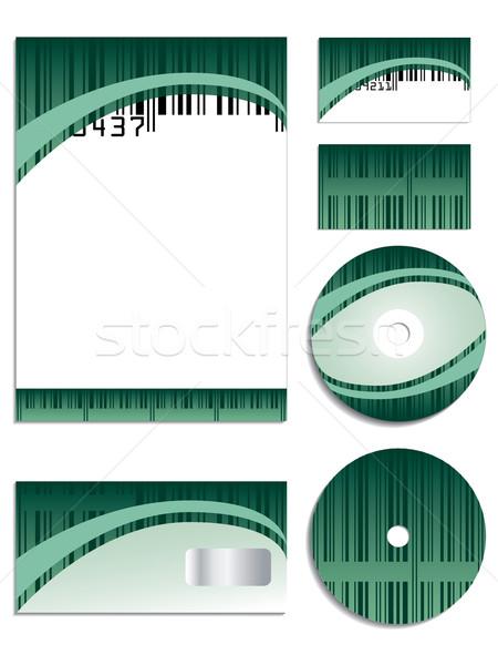 Bar coded company  Stock photo © vipervxw