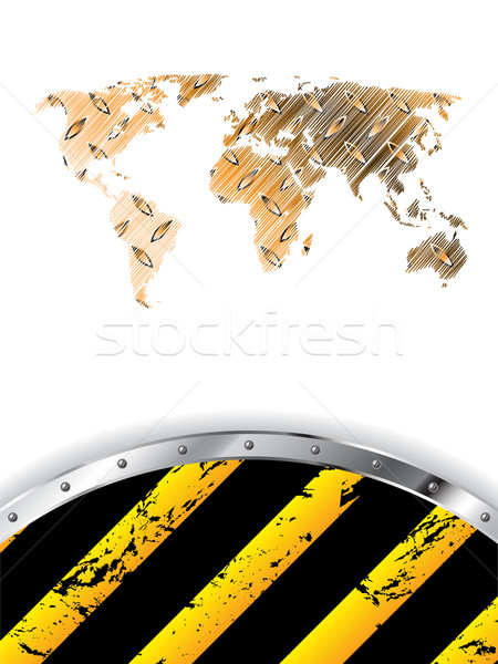 Grunge industrial background design Stock photo © vipervxw
