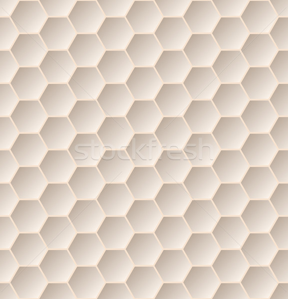 Végtelenített hatszög minta 3D hatás szövet Stock fotó © vipervxw