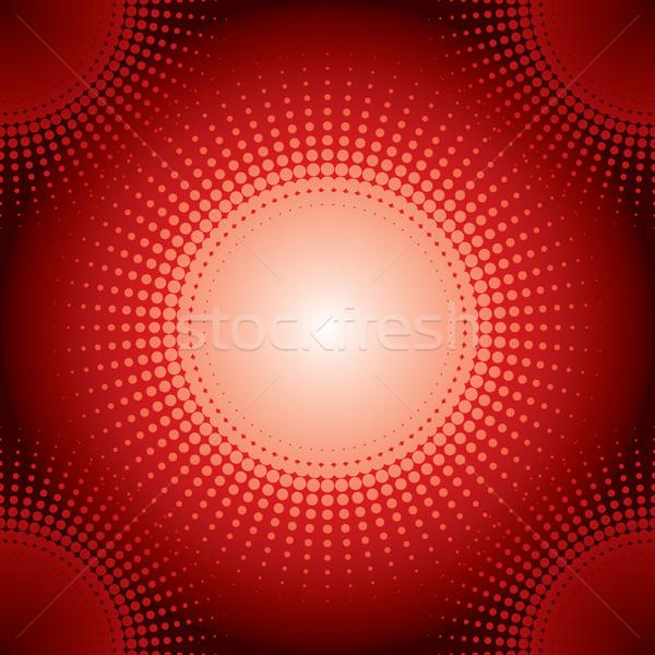 Halftone background red Stock photo © vipervxw
