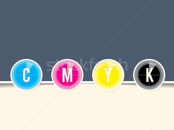 カウントダウン デザイン テンプレート コピースペース 背景 色 ストックフォト © vipervxw