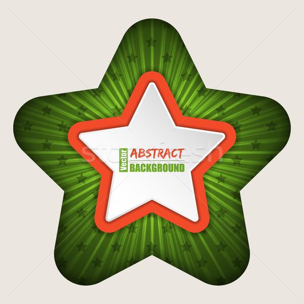 Resumen estrellas folleto negocios diseno fondo Foto stock © vipervxw