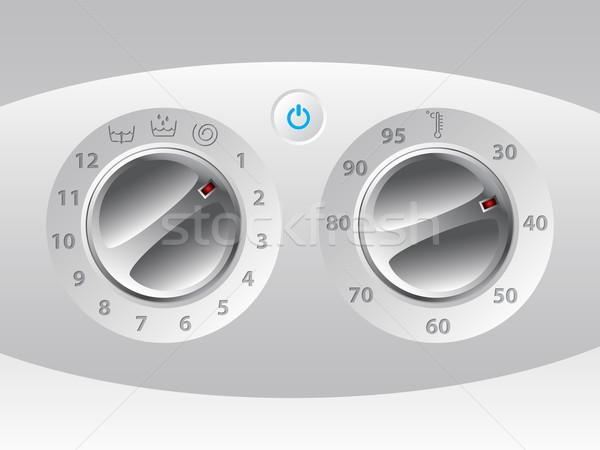 Manual wash machine control deck Stock photo © vipervxw