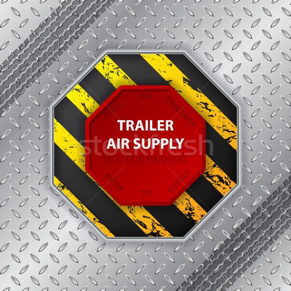 промышленных дизайна шин трек воздуха поставлять Сток-фото © vipervxw