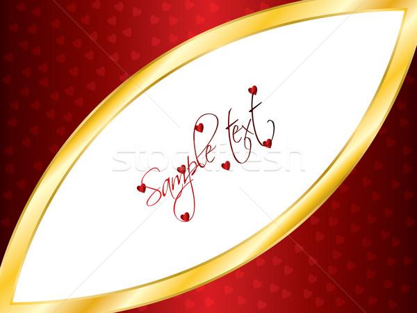 valentine card 18  Stock photo © vipervxw