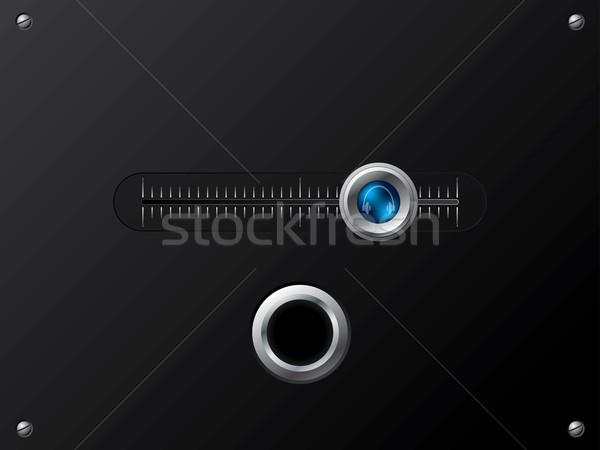 Slideable volume knob headphone Stock photo © vipervxw