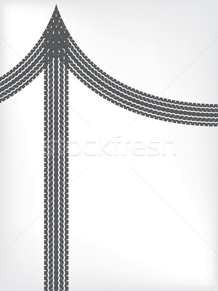 Tire brochure background design Stock photo © vipervxw