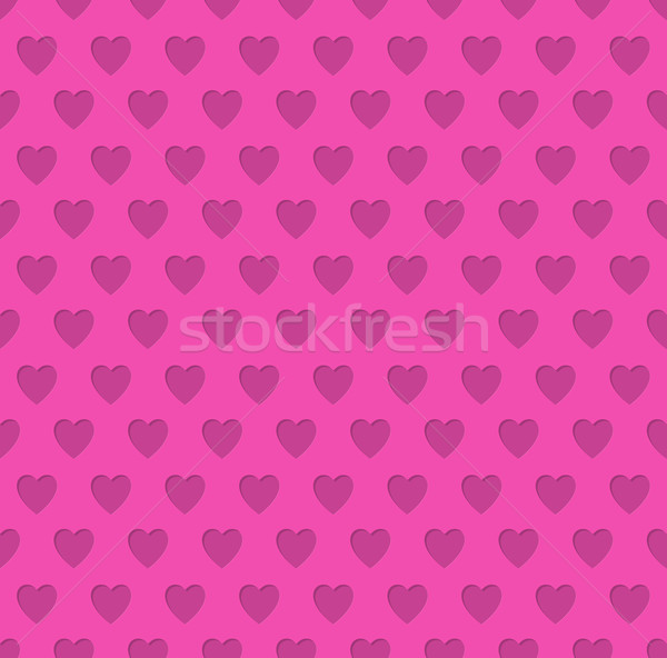 Tileable valentine's day heart patterned background  Stock photo © vipervxw