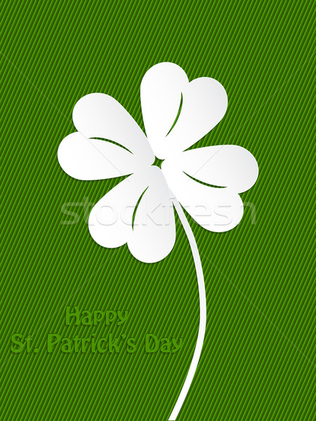St Patrick's day background design Stock photo © vipervxw