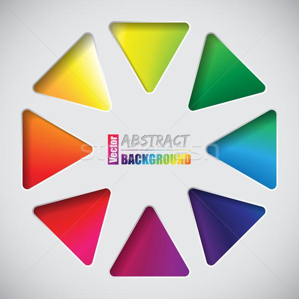 Streszczenie projektu tekstury karty prezentacji plakat Zdjęcia stock © vipervxw