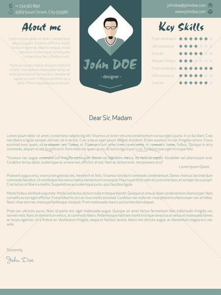 現代 カバー 手紙 デザイン 細部 ビジネス ストックフォト © vipervxw
