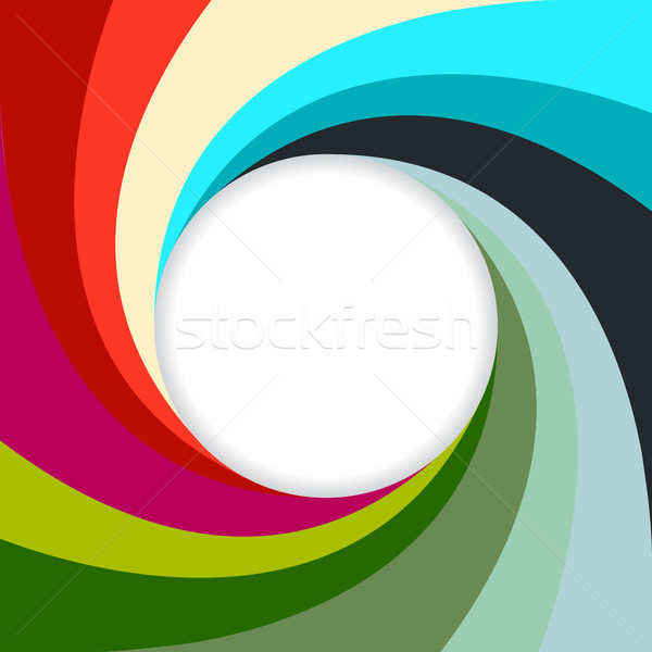 Abstract swirling background with white space  Stock photo © vipervxw