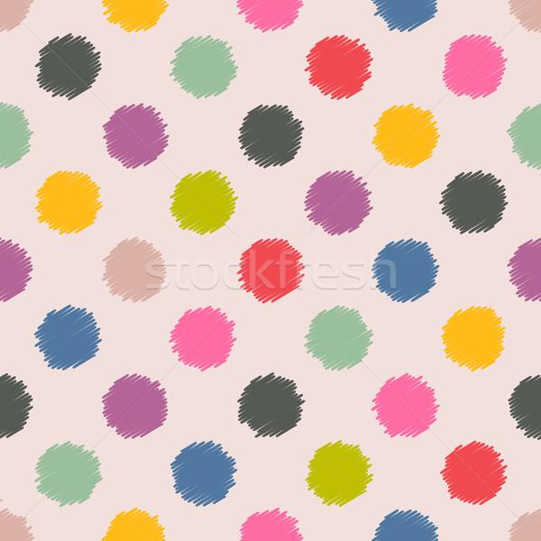 Места цвета шаблон дизайна аннотация искусства Сток-фото © vipervxw