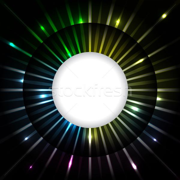 Abstract plasma ray background design Stock photo © vipervxw