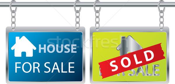 House for sale Stock photo © vipervxw