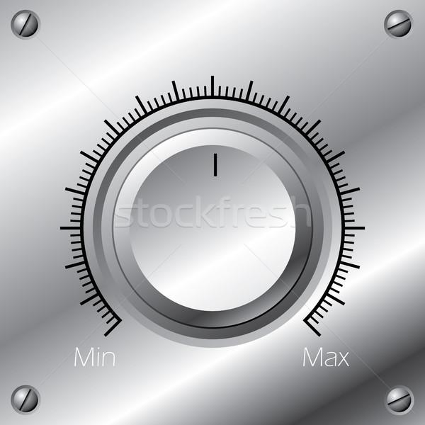Volume knob with calibration Stock photo © vipervxw