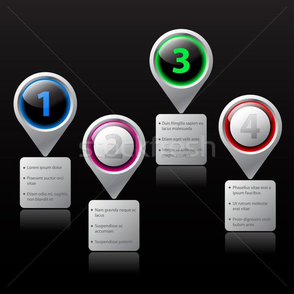 Website option elements Stock photo © vipervxw